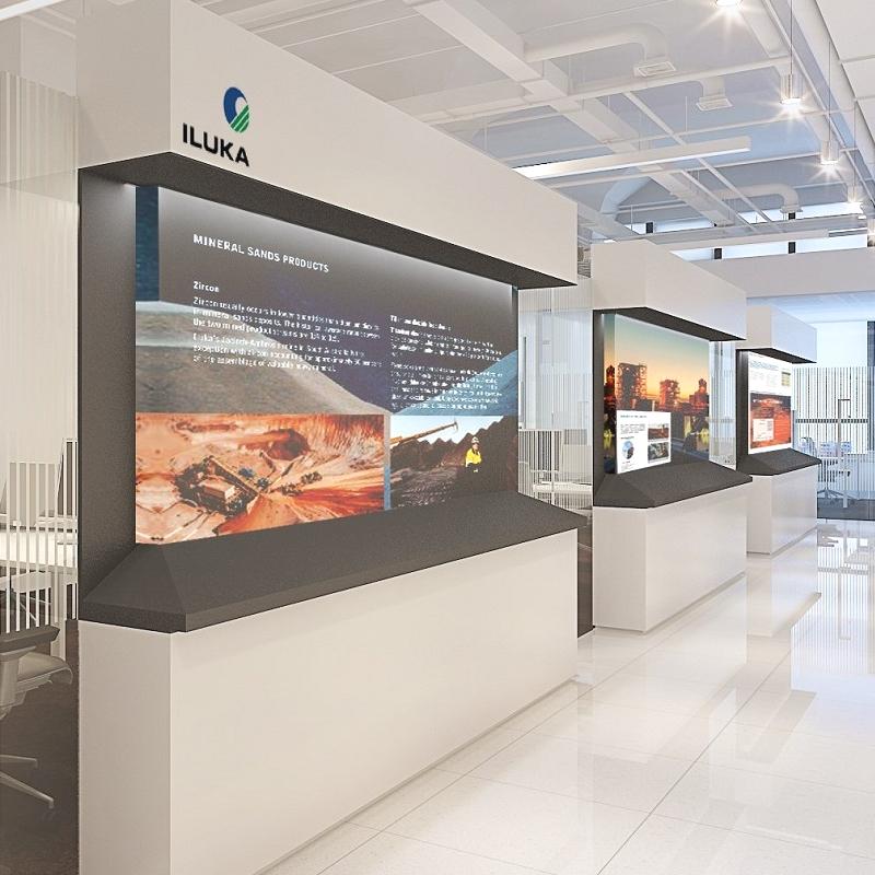display corridor