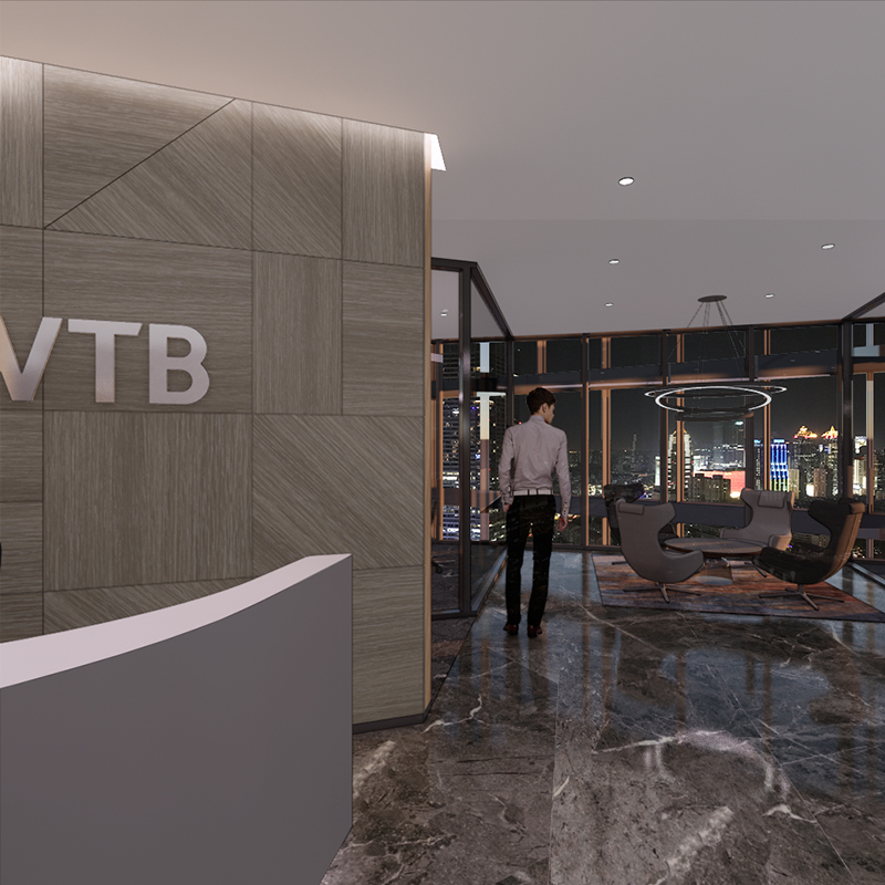 VTB Bank Shanghai Reception Night view